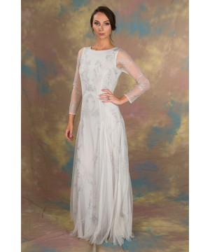 Siren Wedding Dress in White by Nataya