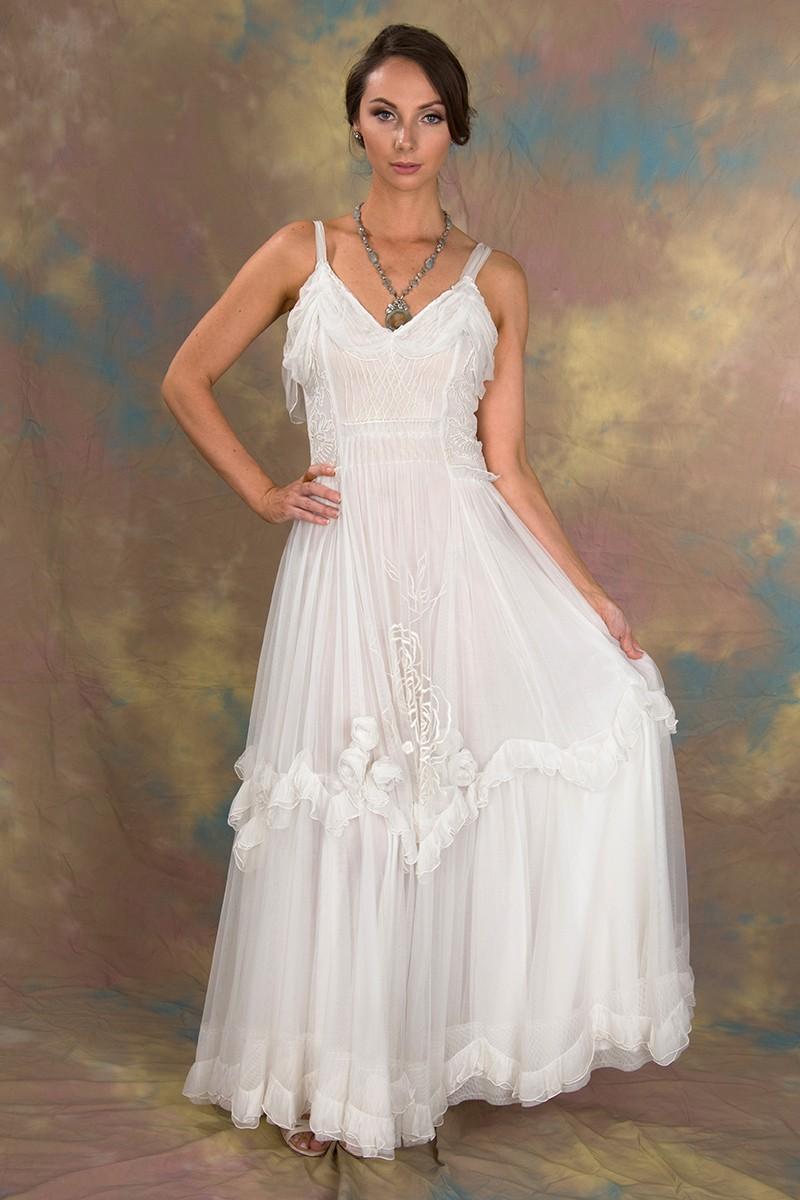 Angel Wedding Dress in Ivory by Nataya