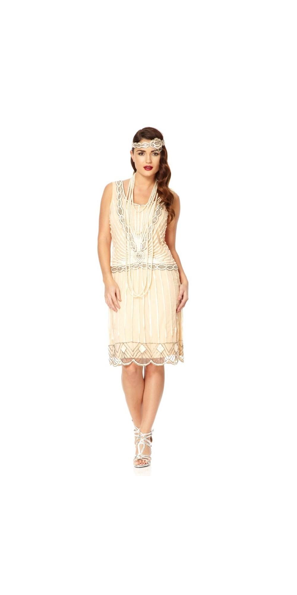 Fein Great Gatsby Themed Partykleid Galerie - Brautkleider Ideen ...