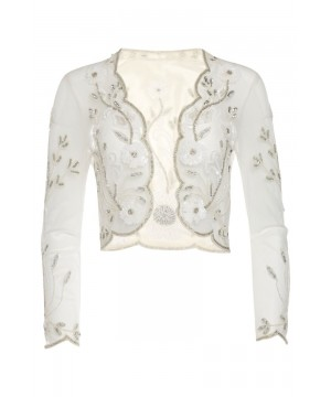 Great Gatsby Inspired Bolero in Off White
