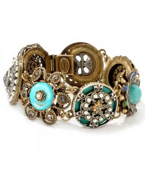 Victorian Collected Treasures Link Bracelet