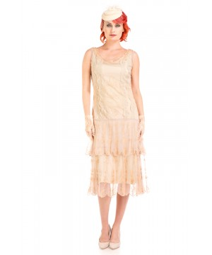 Eva 1920s Flapper Style Dress in Vintage by Nataya
