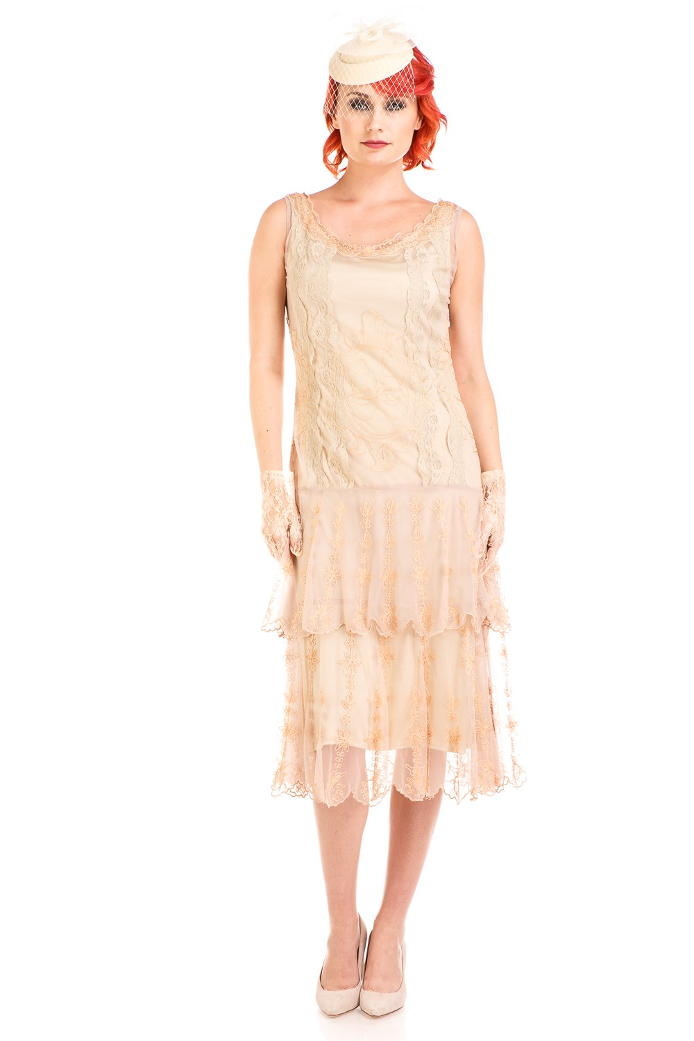 Age of Love Eva 1920s Flapper Style Dress in Vintage by Nataya
