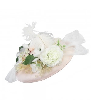 White Rose Austen Hat