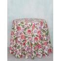 Cherry Pie Cotton Round Tablecloth