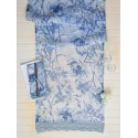 Ladylike Table Runner in Soft Blue | April Cornell