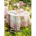 Strawberry Shortcake Tablecloth in Sage | April Cornell - SOLD OUT
