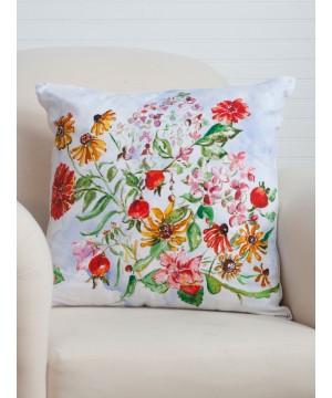 Apple Butter Cushion Cover in Multi | April Cornell
