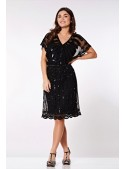 Roaring Twenties Inspired Dress in Black