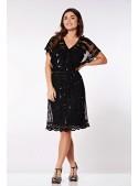Roaring Twenties Inspired Dress in Black