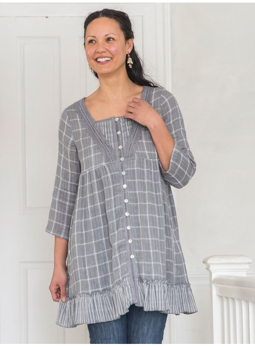Meadow Tunic in Grey by April Cornell