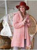 Petal Cardigan in Rose | April Cornell