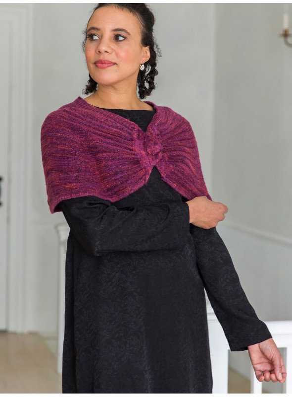 Daphne Capelet in Plum by April Cornell
