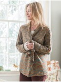 Woodland Cardigan in Green | April Cornell