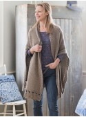 Afghan Cardigan in Pewter | April Cornell