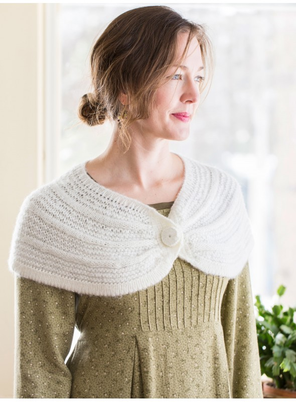 Daphne Capelet in Ecru by April Cornell