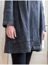 Abigail Coat in Charcoal by Aprill Cornell