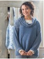 Chai Sweater in Soft Indigo by Aprill Cornell
