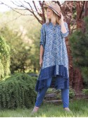 Ingalls Tunic in Indigo | April Cornell