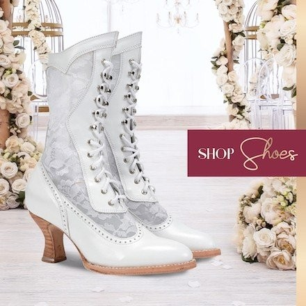Victorian Style Shoes at Wardrobe Shop