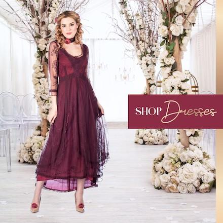 Vintage Style Dresses at Wardrobe Shop